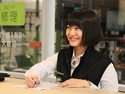 パソコンクリニック ケーズデンキ真岡店内店のバイトメイン写真