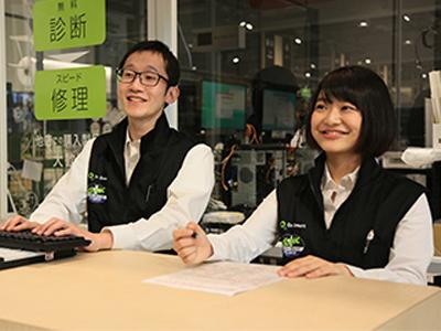 パソコンクリニック ケーズデンキ真岡店内店のバイト写真2