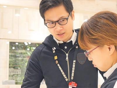 オンデーズ イオンモール宮崎店のバイト写真2