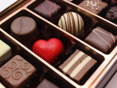 松屋銀座内のチョコレート屋さん